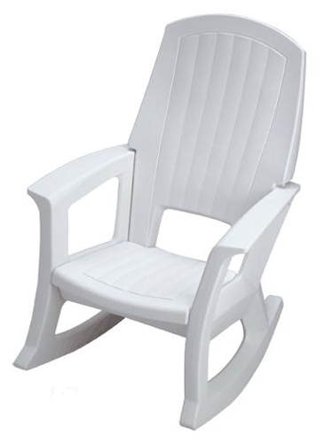 rocking chairs comfortable outdoor plastic patio rockers available in 4 colors. Black Bedroom Furniture Sets. Home Design Ideas