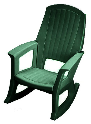 Rocking Chairs fortable Outdoor Plastic Patio Rockers