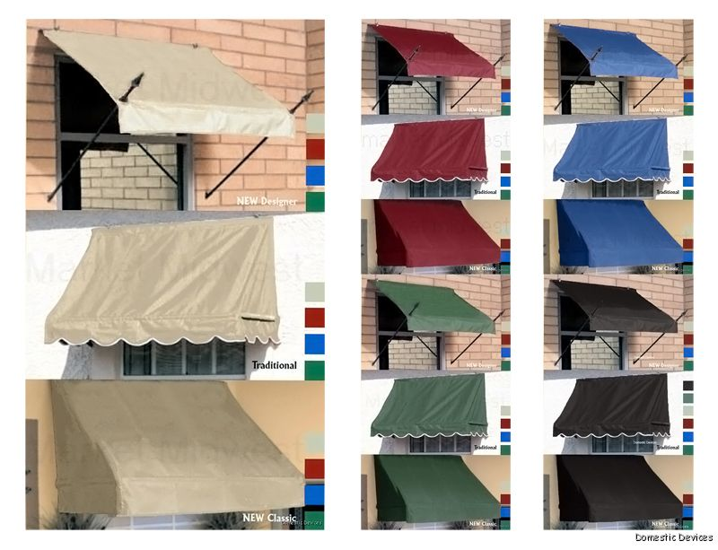 How To Build A Cheap Awning -
