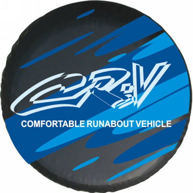 "Honda CR V SUV Car Motor Vehicle Spare Wheel Tyre Tire Cover Pouch 25""26""27"" HA9"