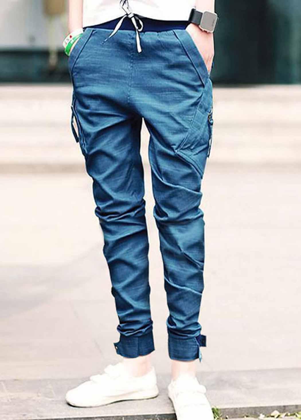Как из джинсов сделать джоггеры
