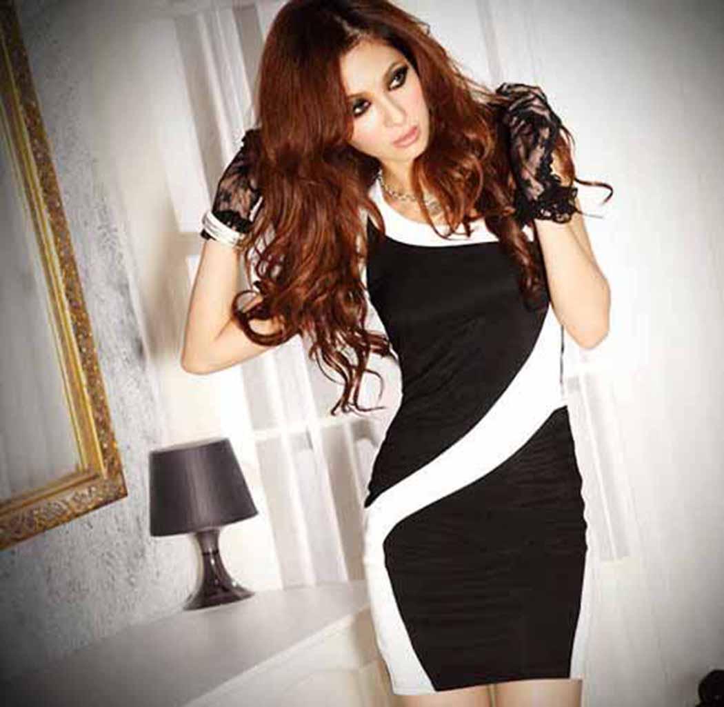 Черное Платье С Белыми Цветами Доставка