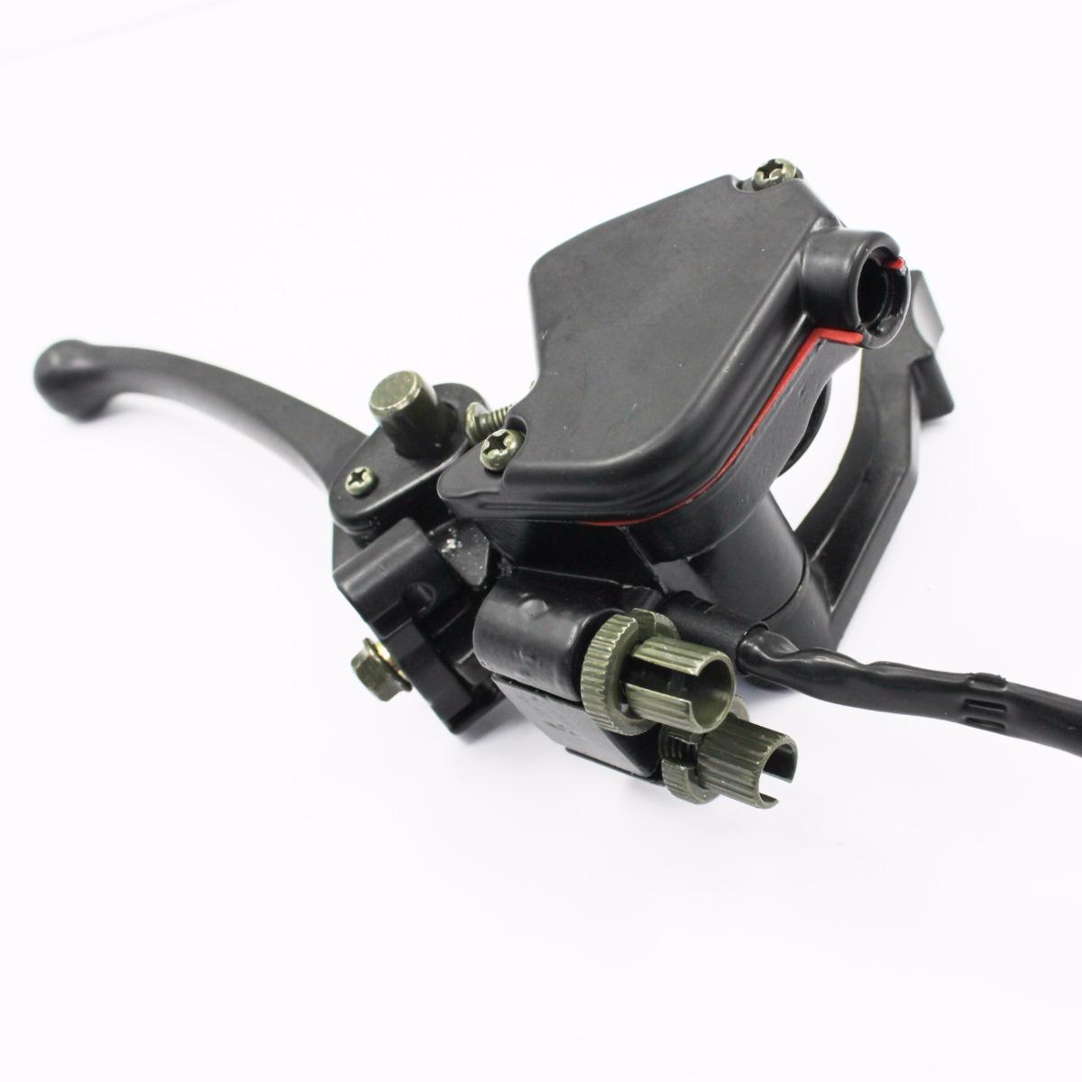 Atv Throttle Lever : Atv thumb throttle accelerator brake lever chinese