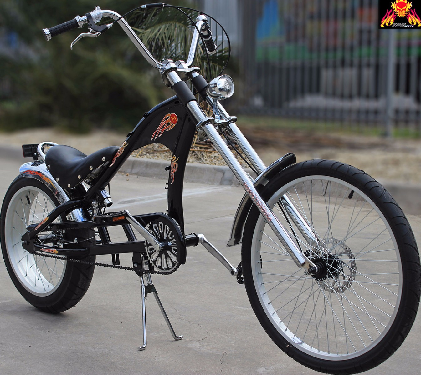 Chopper Bicycle Motorised 80cc Engine Electric Push Bike E Bike