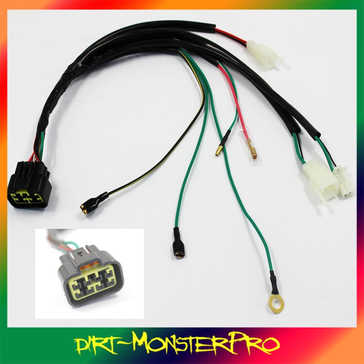 pit dirt bike pitbike yx zongshen 8 pin cdi plug wiring