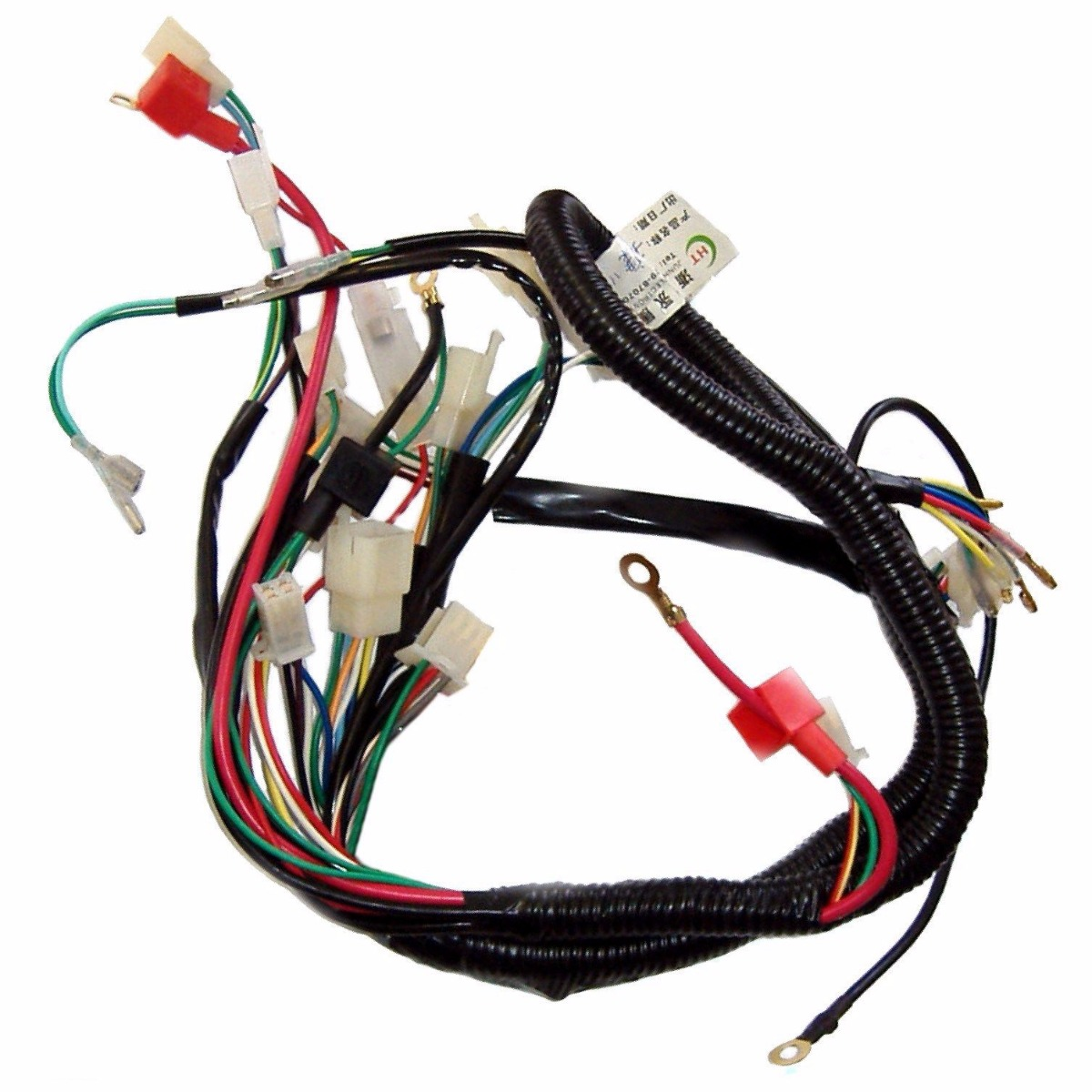 motorcycle electric remote wiring harness loom solenoid coil 50cc motorcycle electric remote wiring harness loom solenoid coil 50cc atv quad bike