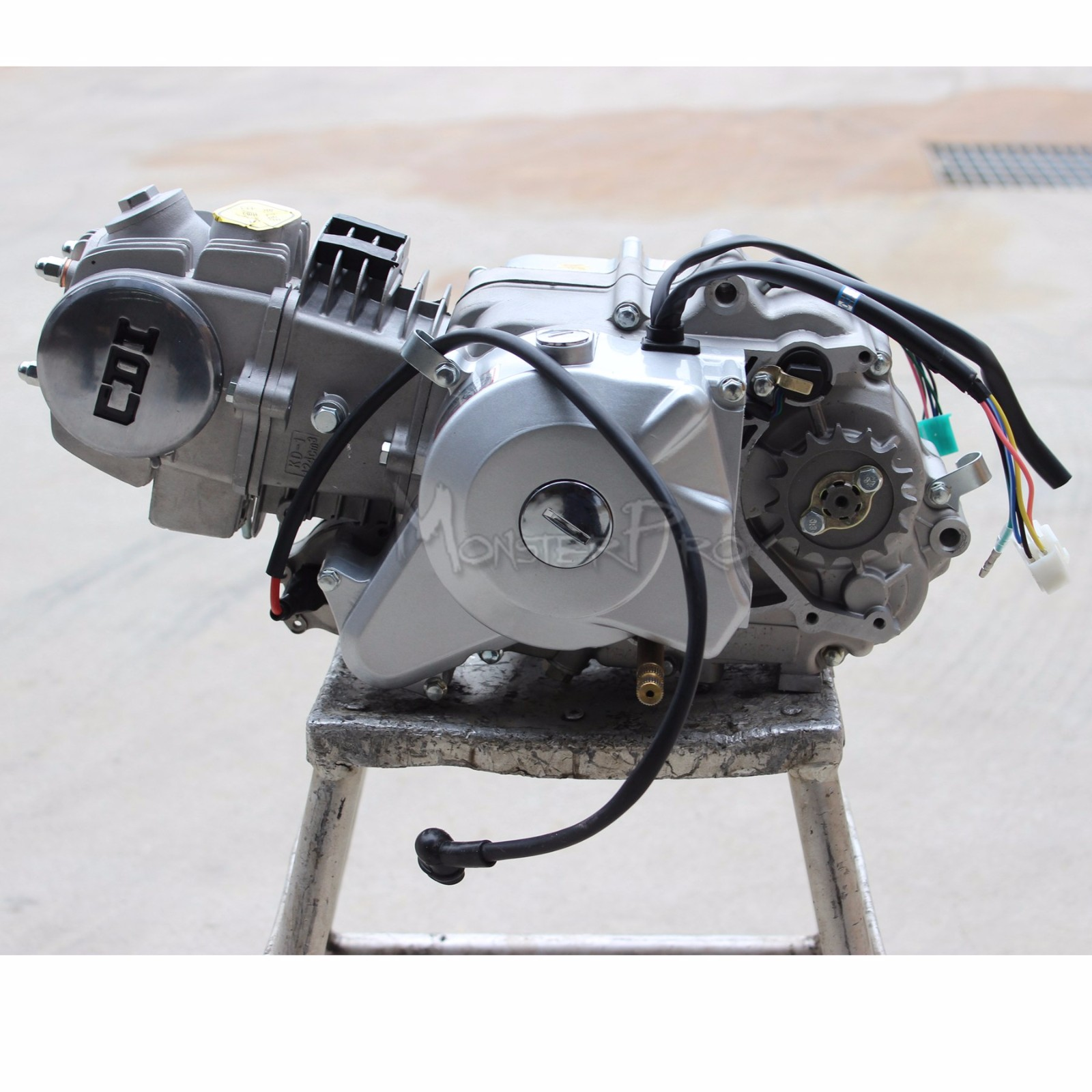 4 up 125cc Semi Auto Engine motor Kick/Elec Start Honda ...
