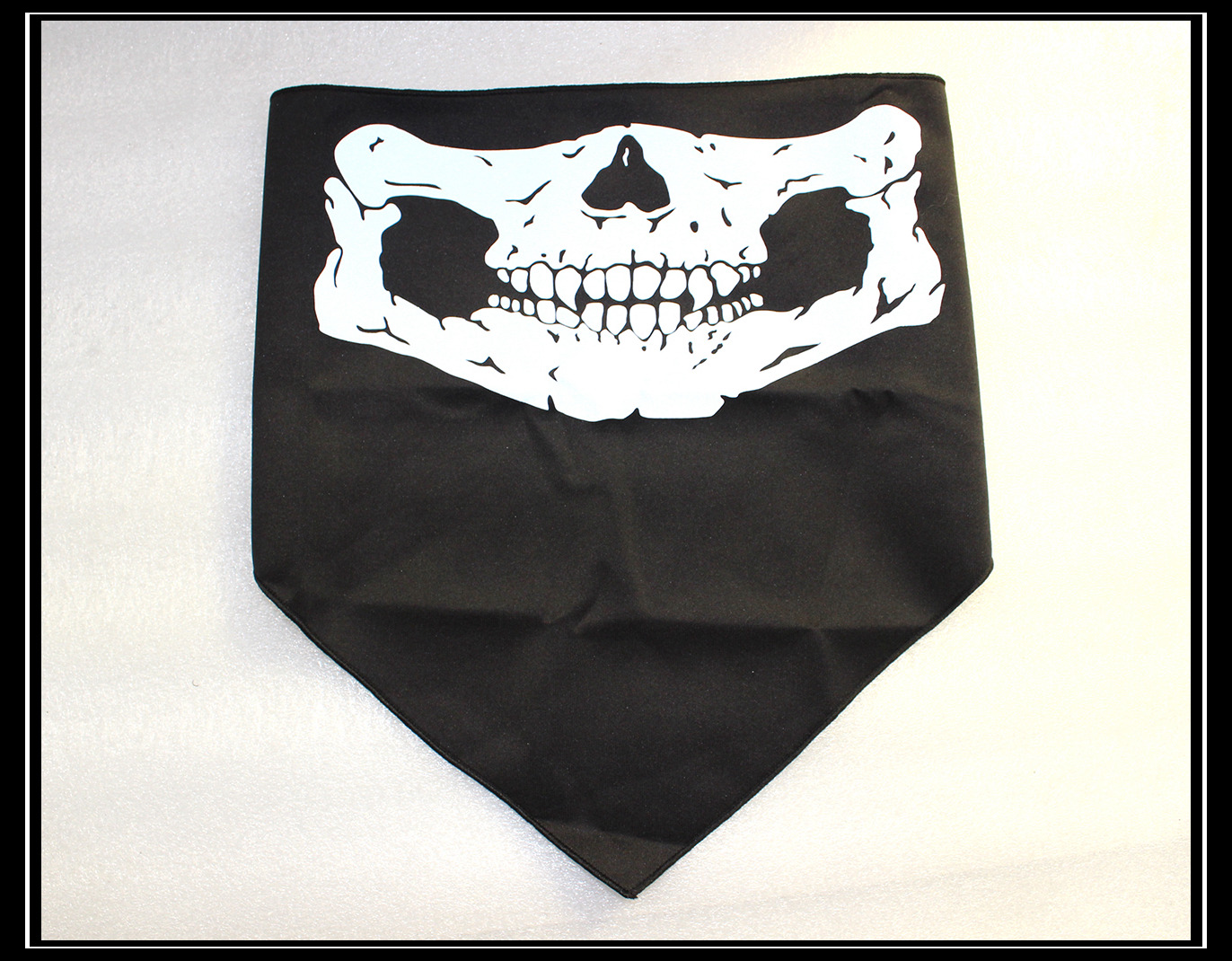 Skeleton Skull Face Mask Triangle Bandit Call Game Duty Ghost ...