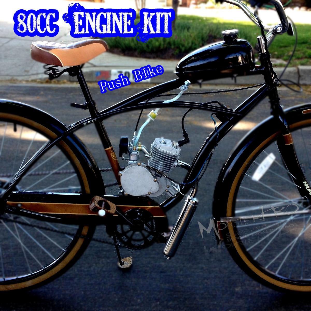 High Performance 2 Stroke 80cc Motorized Push Bike Motor