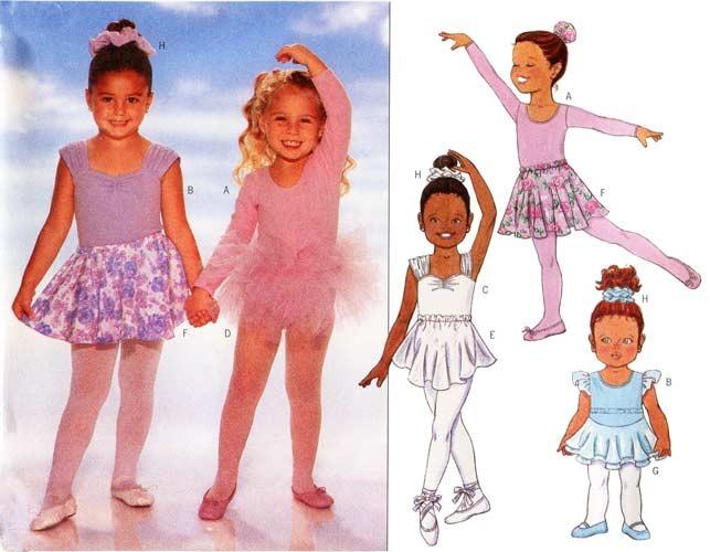 Easy DIY Ballet Skirt Sewing ePattern via PDFiGrow Kids Clothing