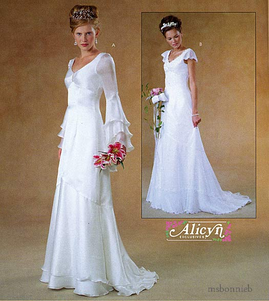 Butterick Royal Wedding Dress Pattern for Catherine's Gown