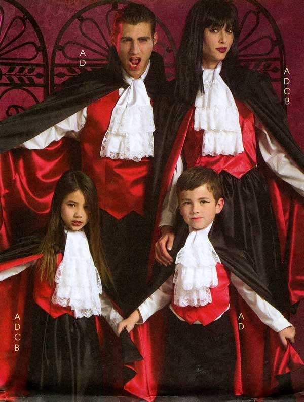 Vampire Costumes - LoveToKnow: Answers for Women on Family, Health