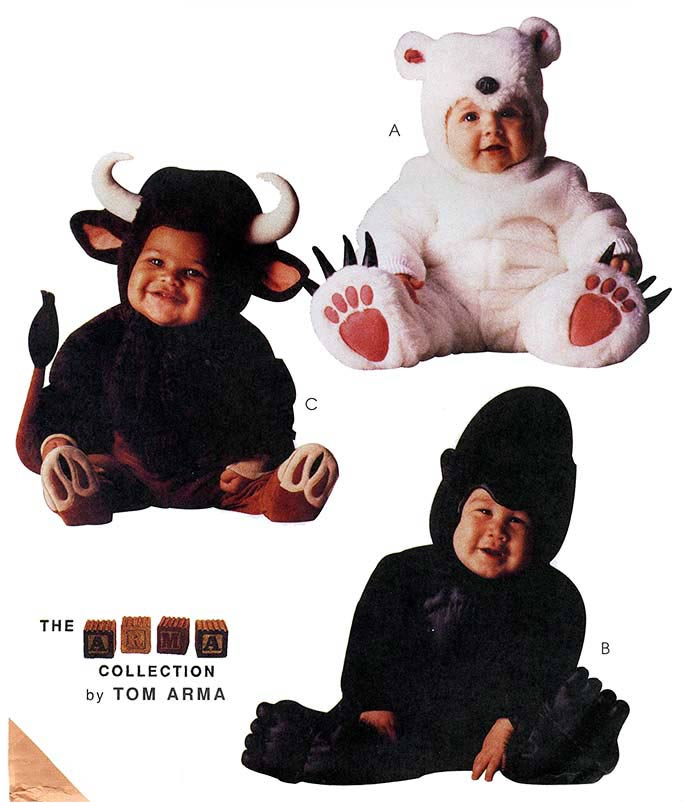 Polar Bear Gorilla Bull Costume M8451 Sewing Pattern Tom Arma  sc 1 st  PopScreen & Polar Bear Gorilla Bull Costume M8451 Sewing Pattern Tom Arma on ...