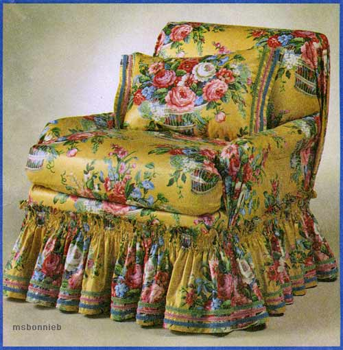 Sofa loveseat chair covers slipcovers sewing pattern ebay for Furniture cover sewing patterns