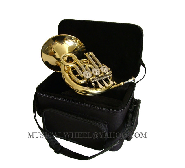 Details about PICCOLO Bb MINI FRENCH HORN   FREE CASE BRAND NEWPiccolo French Horn Ebay