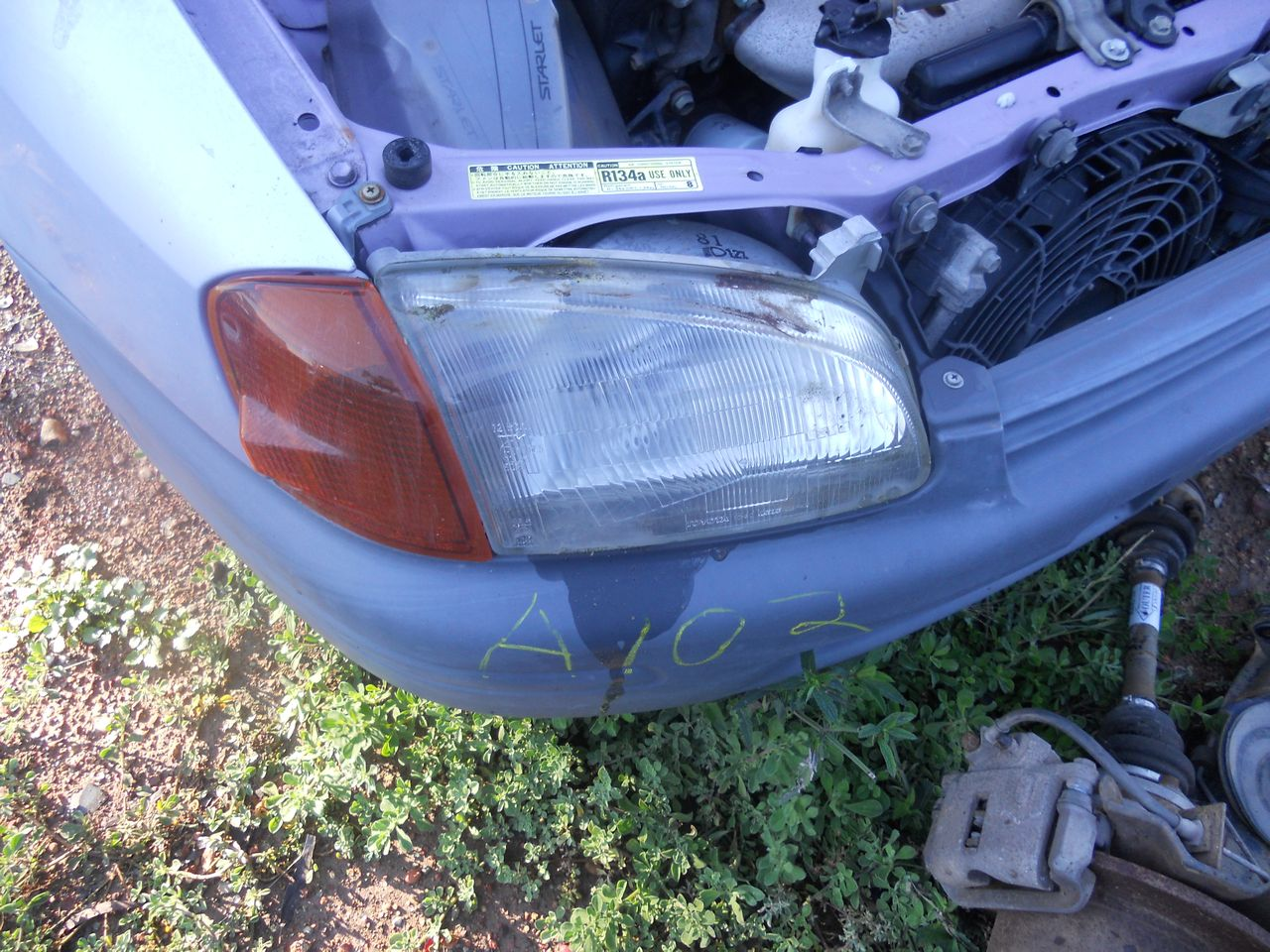 TOYOTA-STARLET-EP91-1996-1999-R-H-HEAD-LIGHT-WRECKING-WHOLE-CAR