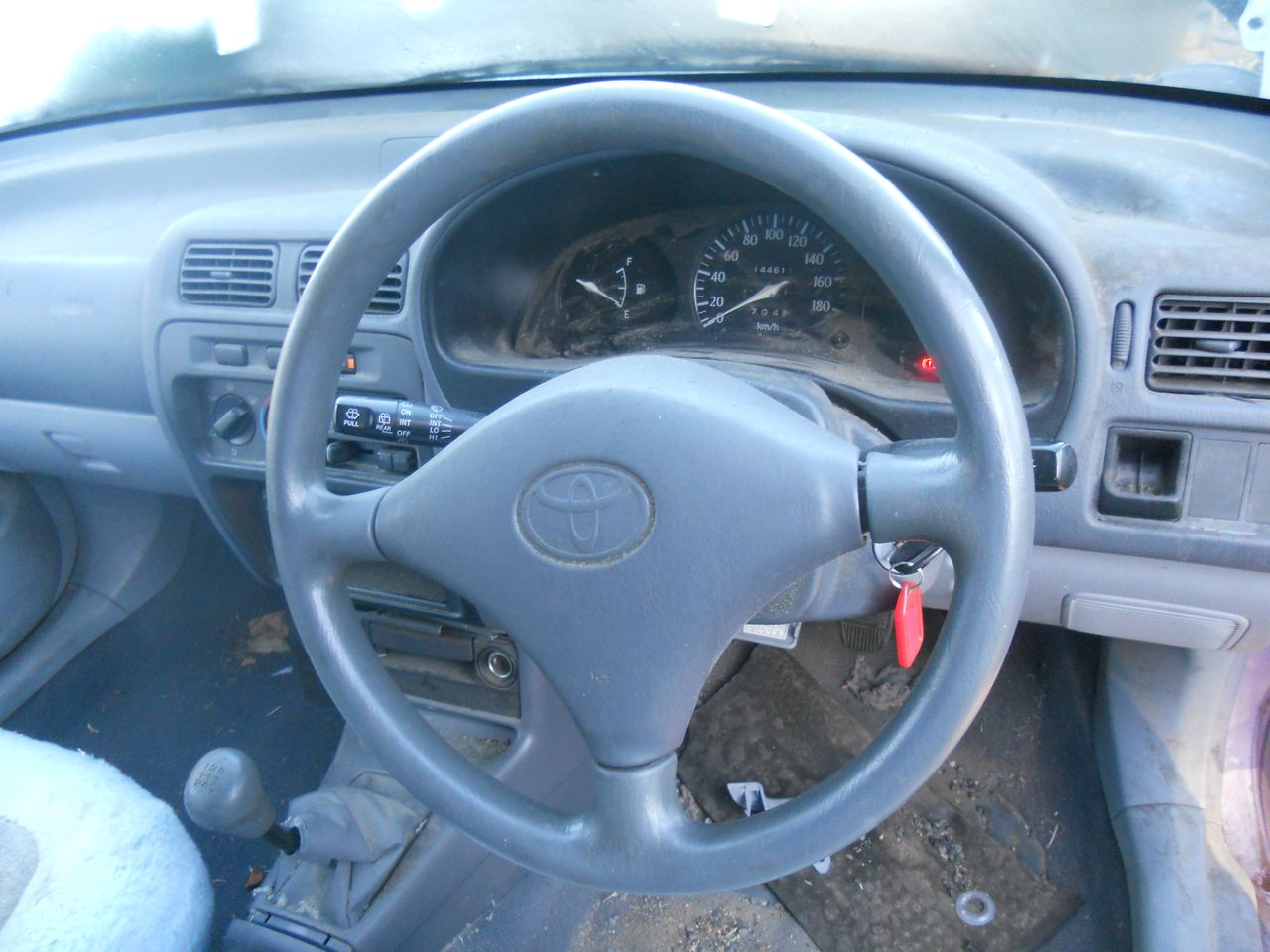 TOYOTA-STARLET-EP91-1996-1999-BLINKER-WIPER-COMBINATION-SWITCH-WRECKING-CAR