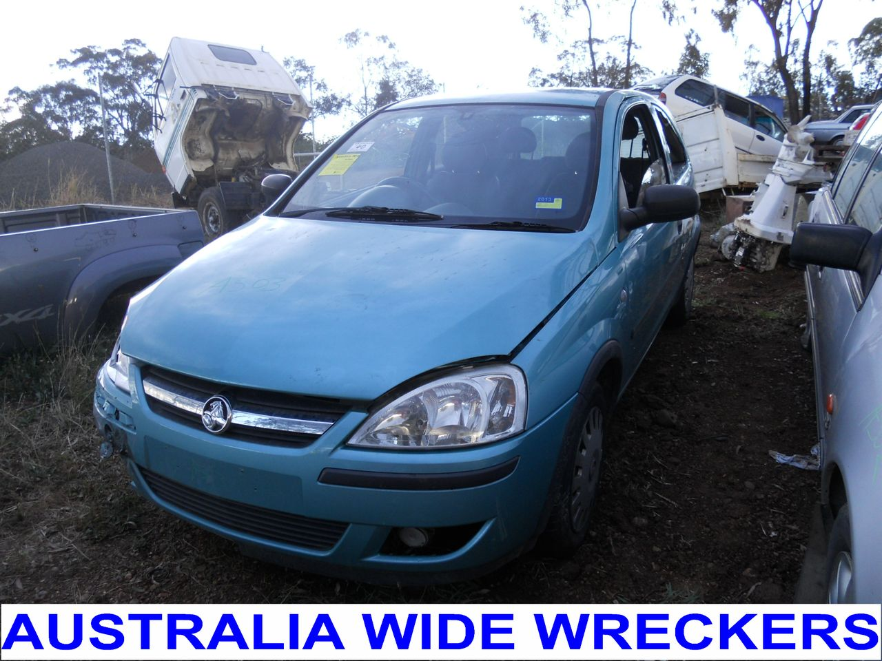 HOLDEN-BARINA-XC-2001-2005-PASSANGERS-WINDOW-SWITCH-WRECKING-WHOLE-CAR
