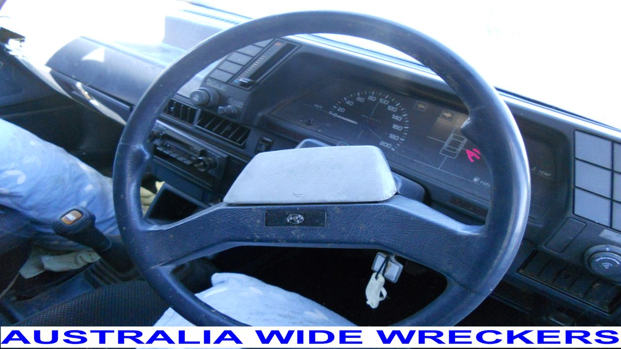 SUBARU-L-SERIES-1984-1990-STEERING-WHEEL-HORN-PAD-WRECKING-WHOLE-CAR