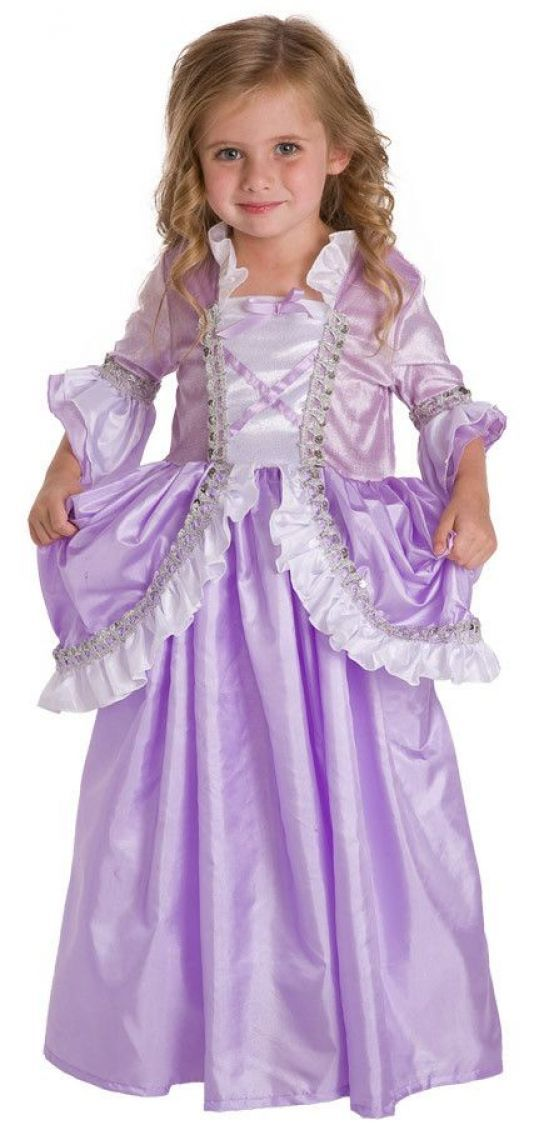Rapunzel Purple and White Fairytale Princess Dress Up Costume Sm, Med, Lg, XL