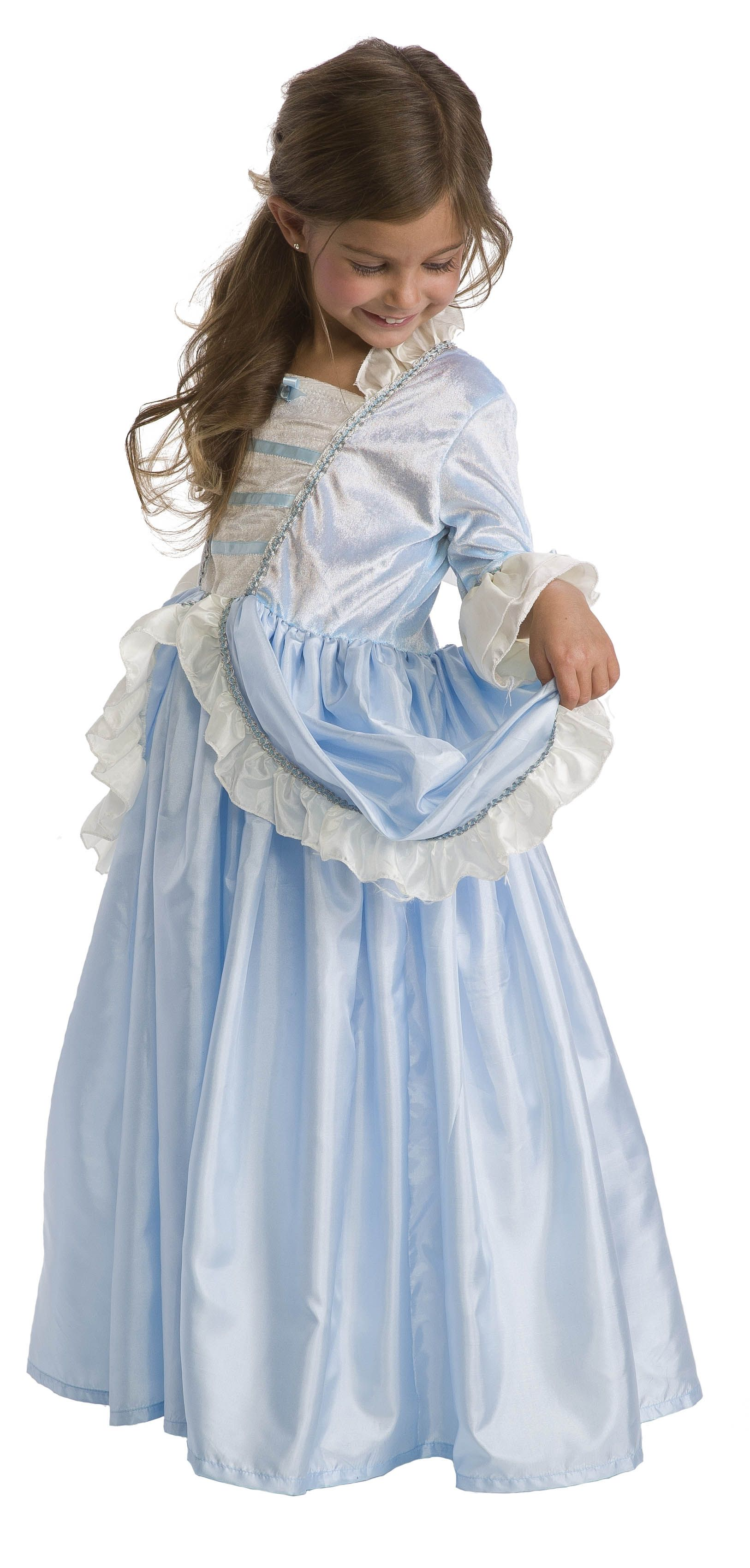 Blue-Parisian-Princess-Dress-Up-Costume-S-M-L-XL