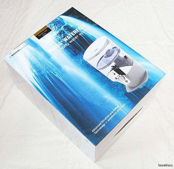 New In Box 1384 Nikken Pimag Waterfall Gravity Water