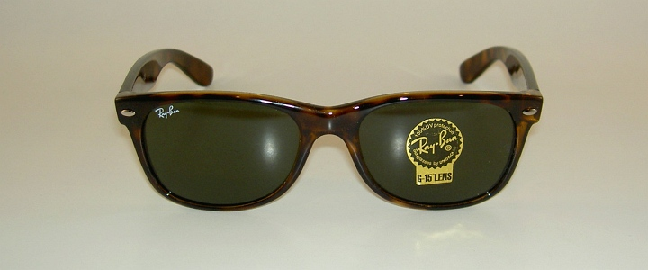 wayfarer 2132  New RAY BAN Sunglasses Brown WAYFARER RB 2132 902 G-15 Glass Lens ...