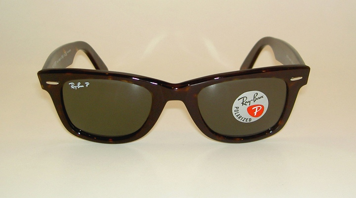 ray ban 2140 wayfarer polarized  New RAY BAN Sunglasses Wayfarer Tortoise Frame RB 2140 902/58 ...