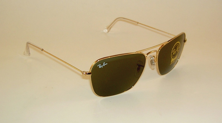 ray ban golden glass  ray ban caravan rb3136 001