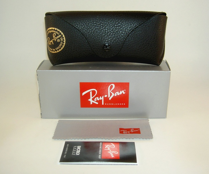 authentic ray bans  New RAY BAN Original WAYFARER Sunglasses RB 2140 901 Black Frame ...