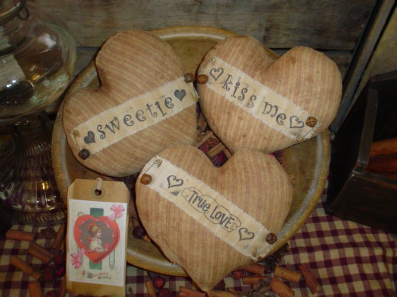 nice Primitive Hearts And Stars Part - 4: I finished making these stars this morning and listed them as well. The  pattern for the Primitive Stars is on the side bar on the right or simply  visit me ...
