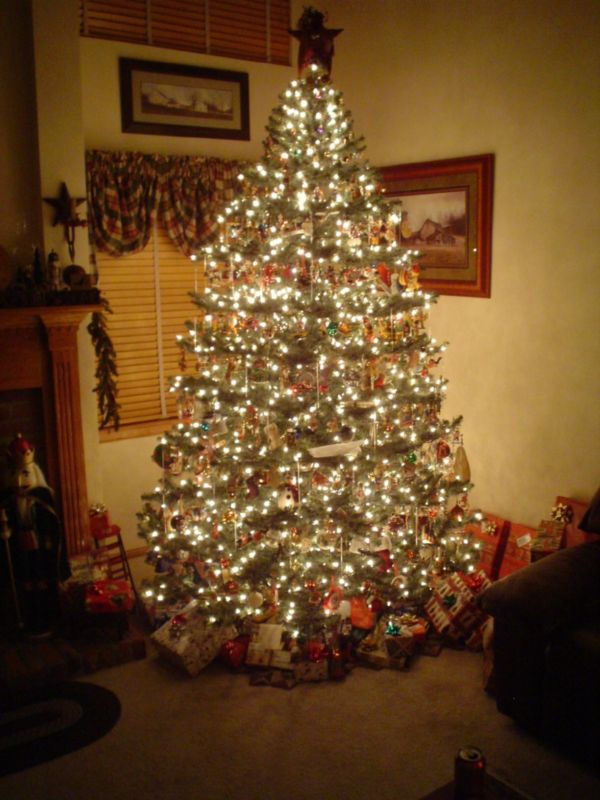 our christmas tree - Primitive Christmas Trees