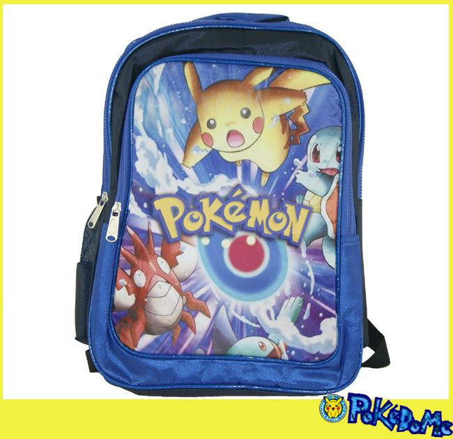 Pokemon Backpack - Bb Pokemon Blue