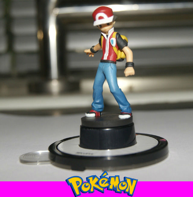 Character trainer ash w red hat trading figure game next quest tfg