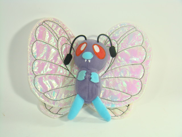 6-Pokemon-Plush-Doll-Soft-Toy-Butterfree-FREE-SHIPPING