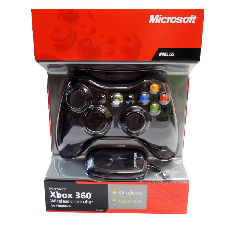 official microsoft xbox 360 wireless controller for xbox. Black Bedroom Furniture Sets. Home Design Ideas