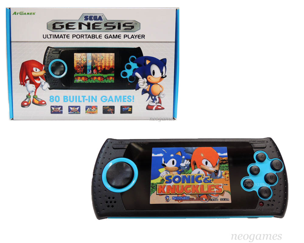 At games sega genesis ultimate portable game player w 80x for Ptable games