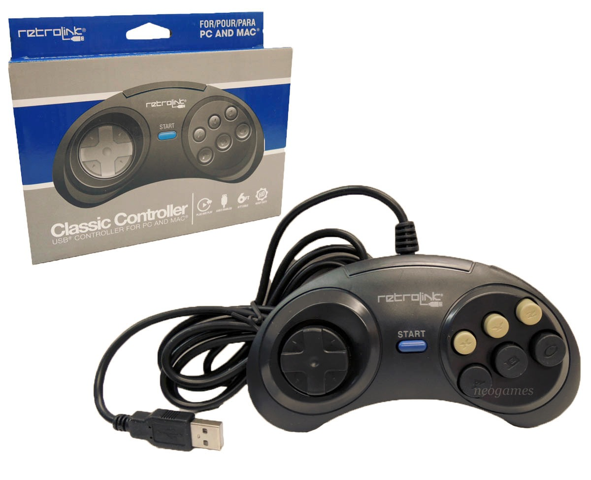 how to connect genesis controller to pc