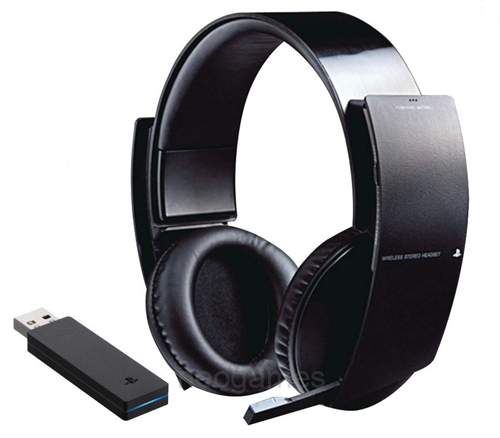 new genuine sony official ps3 wireless stereo gaming. Black Bedroom Furniture Sets. Home Design Ideas