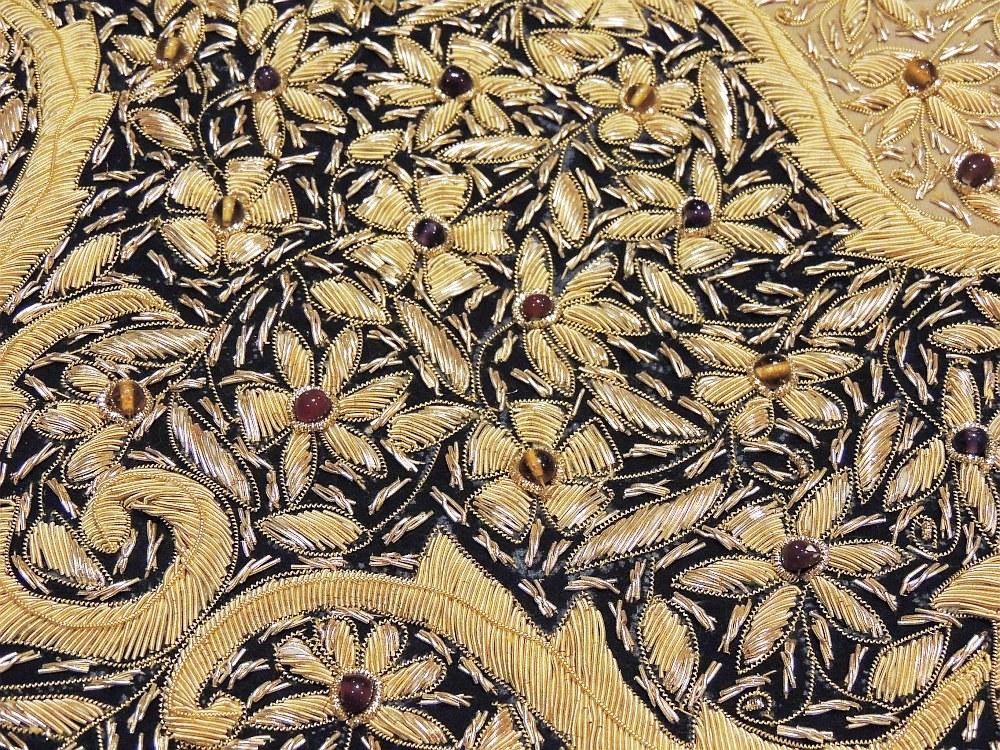 Decorative Jewel Carpet Rug Wall Hanging Art Royal Kashmir