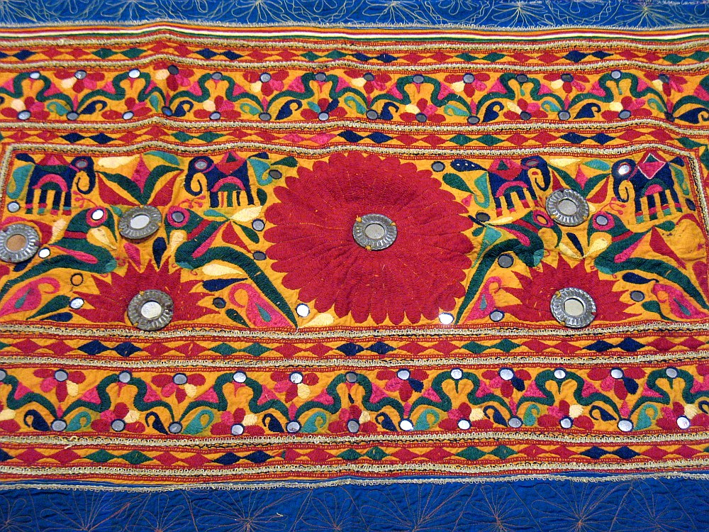 embroideries of rajasthan New delhi, march 30 : get acquainted with the colourful culture of vibrant rajasthan through their handicrafts which can easily find a spot in your house, say experts.