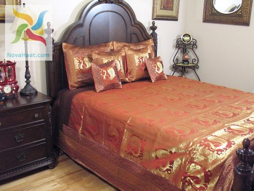East Indian Themed Bedroom