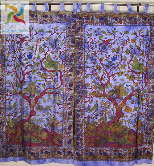 Indian Fabric Curtains Cotton fabric curtains