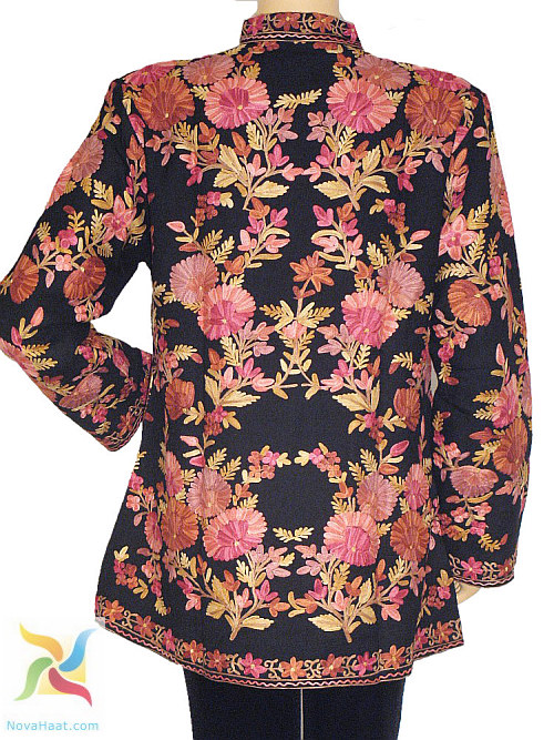 Cashmere Embroidered Coats For Women - Indian Decor And Ethnic Fashion - NovaHaat Blog