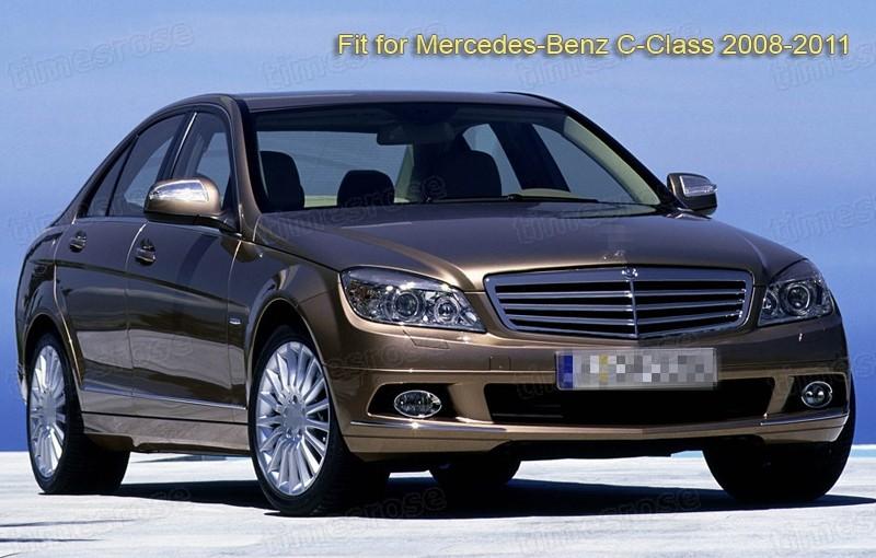 Mud flaps splash guard fender mudguard for benz c class for Mercedes benz c250 2008