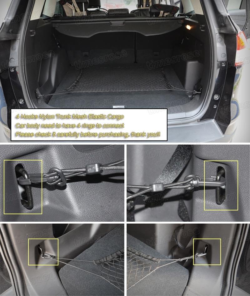 Car Trunk Cargo Luggage Net Holder Fit For Audi Q3 Q5 Q7