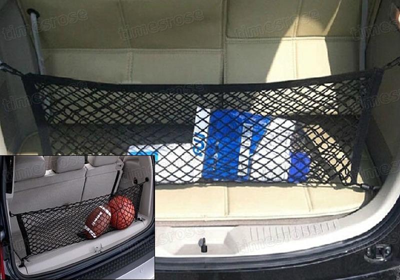 trunk cargo double elastic bungee luggage net  audi suv      avant ebay