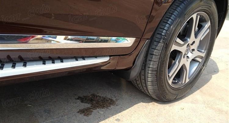SPEEDLONG 4Pcs Car Mud Flaps Splash Guard Fender Mudguard Black for Honda Civic Sedan 2006-2011 07 08 09 10