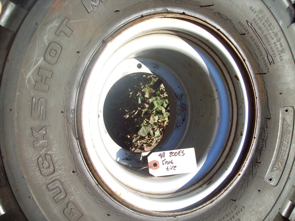 ATC200 ATC 200 ES Big Red Front or Rear Wheel & Tire MUST SEE  NICE