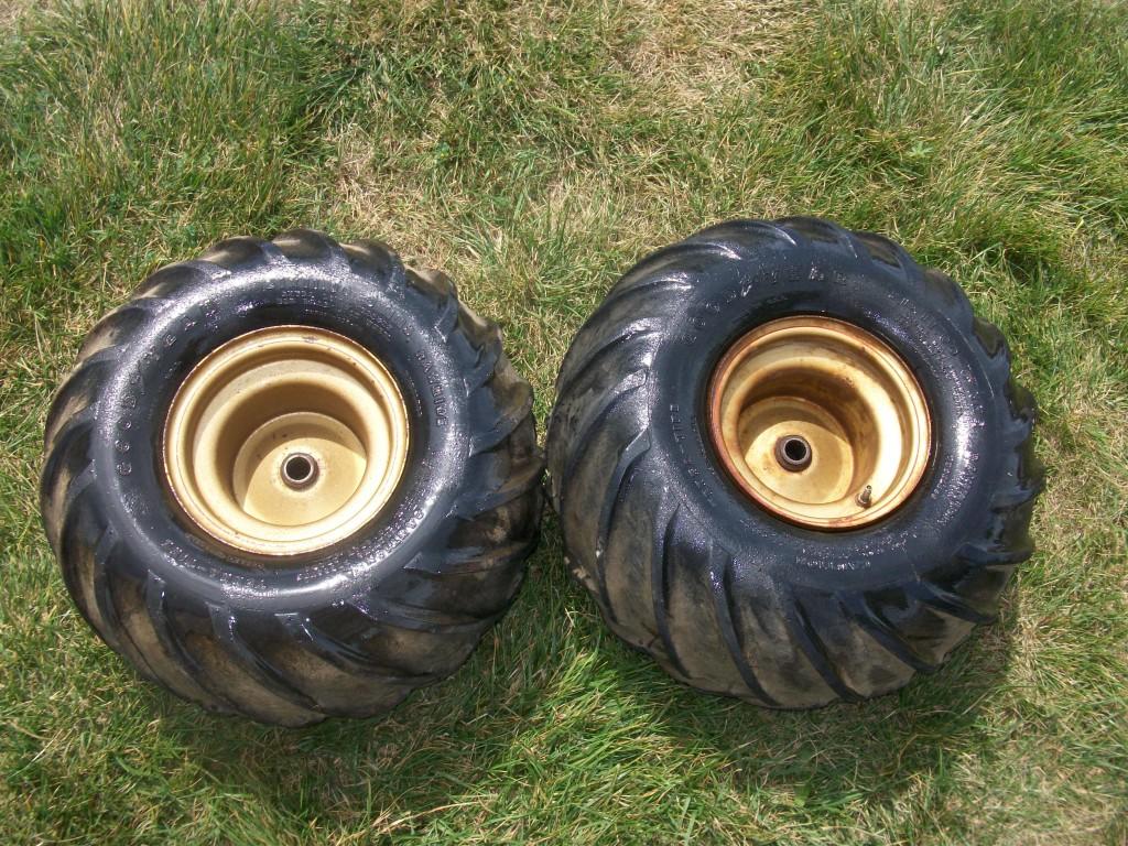 81 82 83 Honda ATC 200 Two Rear Wheel Tires Tire 2X 2